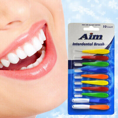 AIM Inter-dental Brushes Dental Brace Floss Plaque Remover Oral Care Gum Clean