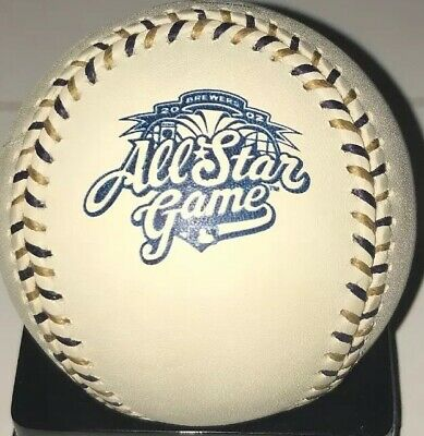 New Rawlings Official 2002 ALL-STAR Game Baseball Milwaukee Brewers New In Box