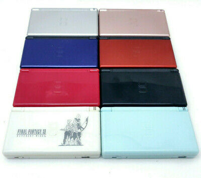 Nintendo DS Lite Console - Pick Your Color - Tested - Working Blue Red Black