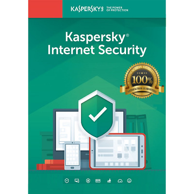 KASPERSKY INTERNET SECURITY 2019  1 PC DEVICE 1 YEAR  BIG SALE 4-90