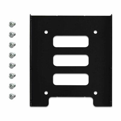 2-5 to 3-5 Bay SSD Metal Hard Drive HDD Mounting Bracket Adapter Dock  Tray