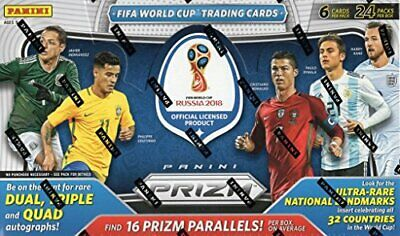 2018 Panini World Cup Prizm Soccer Complete Base Set 1-300 Messi Ronaldo Mbappe