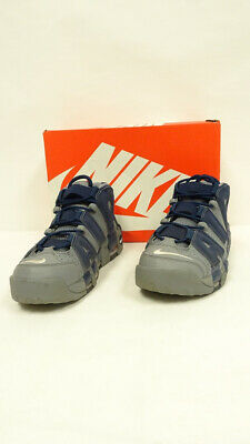 Nike Air More Uptempo Cool Grey Midnight Navy Size 8-5 921948-003 P6N2291