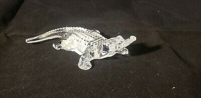 Scarce Waterford Crystal Alligator Figure