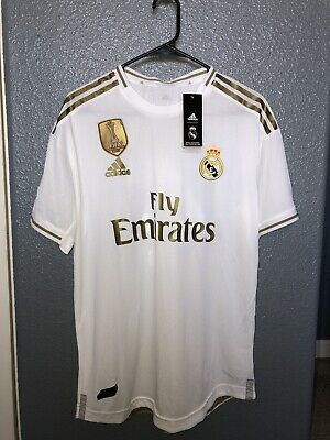 Real Madrid Player Version Jersey Home Issue Large 1920