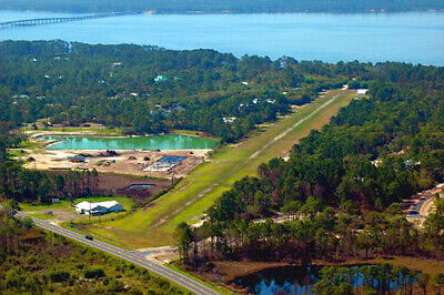 -7 AC by Pond Gated Fly-In Community WPrivate Air StripFL  Pre-Foreclosure