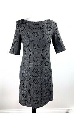 adrianna papell Women's Size 6 Knit Fully Lined Career Black Sophisticated Chic