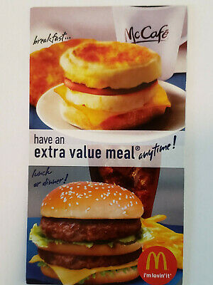 50x - McDonalds Free Extra Value Meal Combo - Great Savings