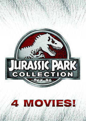 NEW Jurassic Park 25th Anniversary Collection DVD 2015 6-Disc Set Fast