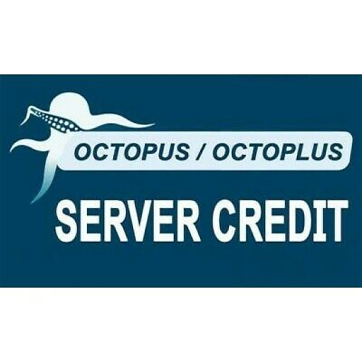 OCTOPLUS OCTOPUS BOX SERVER CREDIT 100 PACK FAST