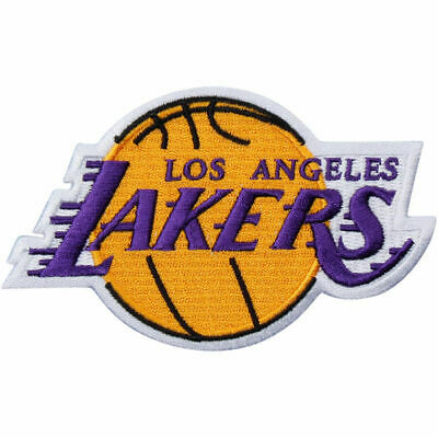 Los Angeles Lakers Basketball NBA Team Logo Patch Sport Gift Iron Sew 3-25x 3