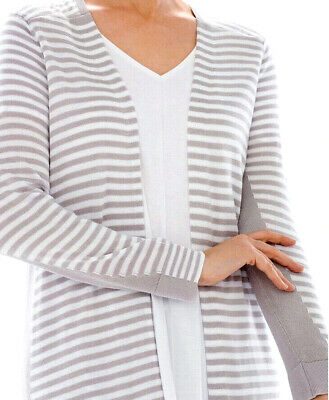 NEW Soma Open Front Duster Cardigan Sweater Wrap Opal Colorblock Small