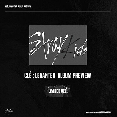 PreOrder STRAY KIDS -  Clé  LEVANTER  LIMITED VERSION FreeCustomize