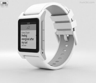 Pebble Heart Rate 2 Smartwatch - White
