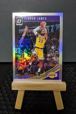 2018 19 Lebron James Optic SP Holo Refractor Silver LAKERS 🐐 🏀