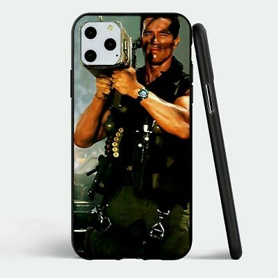 iPhone 11 Pro Rubber Case Cover Arnold Schwarzenegger Free Shipping NEW
