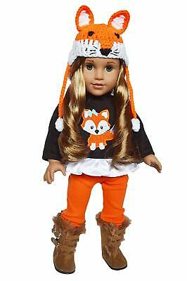 Woodland Fall Outfit Fits 18 Inch American Girl Doll Clothes