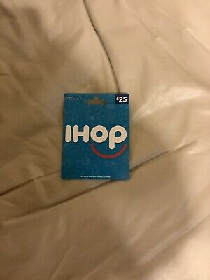 25 IHOP PHYSICAL GIFT CARD