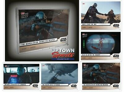 🔥👀 Star Wars The Mandalorian TOPPS NOW® 5-Card Pack - S1Chapter 1👀🔥
