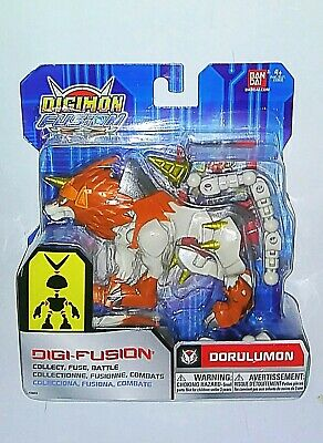 Digimon Fusion Dorulumon Digi-Fusion Action Figure Fuse Battle Bandai Figurine