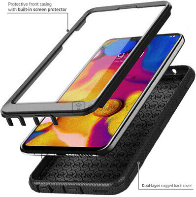 REFINED ARMOR SHOCKPROOF RUGGED Tank Phone Case Cover -BUILT-IN SCREEN PROTECTOR