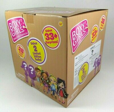 New Boxy Girls JUMBO Crate with 2 Limited Edition Dolls UNBOX 33 Surprises