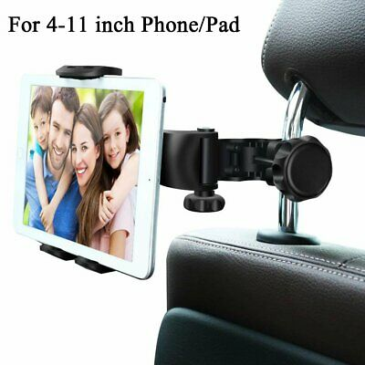 Universal Car Back Seat Headrest Phone Holder Mount for iPad Tablet iPhone 4-11