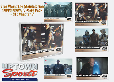 Star Wars The Mandalorian TOPPS NOW® 5-Card Pack - S1  Chapter 7