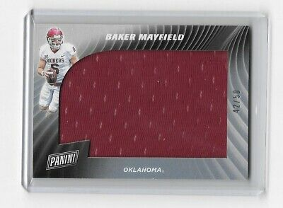 2019 Panini Cyber Monday Baker Mayfield Jersey  4250 Sooners Browns