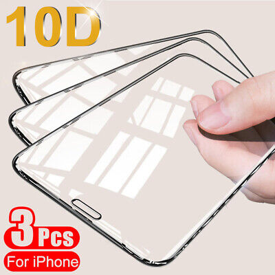 20D FULL COVER For iPhone 11 Pro Max Tempered Glass Camera Lens Screen Protector