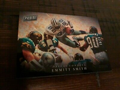 2018 Emmitt Smith Panini Black Friday SSP 1525 Dallas Cowboys