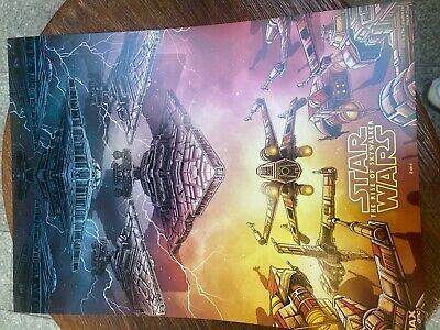 STAR WARS THE RISE OF SKYWALKER IMAX AMC MOVIE POSTER 9-5X13 WEEK 2  RARE