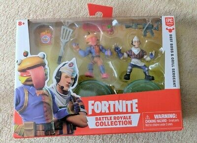 Fortnite BEEF BOSS - GRILL SERGEANT Battle Royale Collection Figures