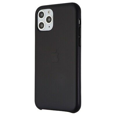 Apple Leather Case for iPhone 11 Pro 5-8-inch Smartphone - Black