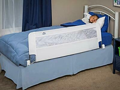 Regalo Swing Down 54-Inch Extra Long Bed Rail Guard with Reinforced Anchor Safe
