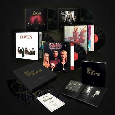 COVEN JINX NEW BOX SET Vinyl Hand signed Half Century of  Witchcraft
