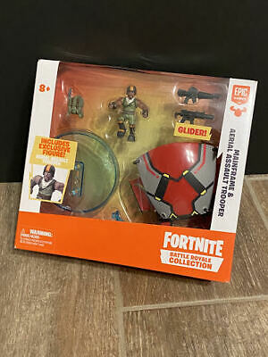 Fortnite Battle Royale Mainframe - Aerial Assault Trooper Glider and Figure NEW