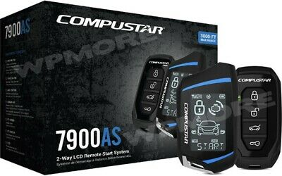 Compustar CS7900-AS All In One 2-Way 3000-FT Range Remote Start Security System