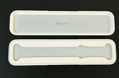 Apple Watch Band EMPTY CASE White Plastic - CASE ONLY