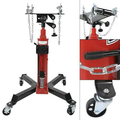 1660lbs 2 Stage Hydraulic Transmission Jack w 360° Swivel Wheels Lift Hoist