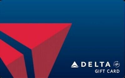 Delta Airlines Electronic Gift Card - 250 Fast Delivery Read description