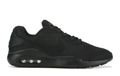 Nike Air Max OKETO Mens Triple Black Sneakers Running Cross Training Shoes NIB