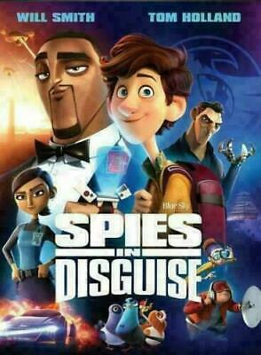 Spies In Disguise NEW DVD  FAMILY COMEDY ANIM