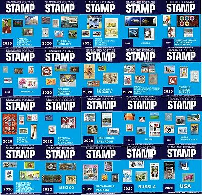 Standard Postage Stamp Catalogue 2020- 20 Volumes- 49 Countries of the World-