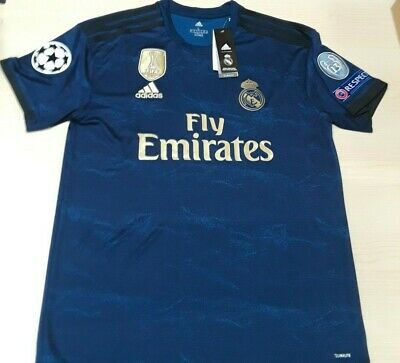 BRAND NEW NWT Real Madrid Jersey - Men´s EDEN HAZARD 7 or No Name Jersey
