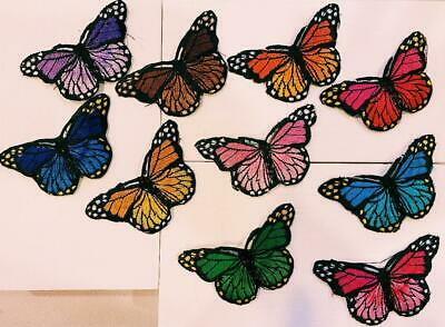 Butterfly Patches - Iron on - Choose your Color