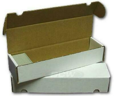 3x BCW 800 CT COUNT Corrugated Cardboard Storage Box-Sport Trading Card Boxes