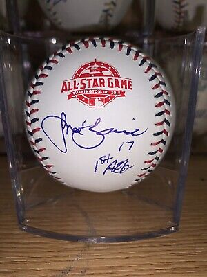 Jose Berrios Autographed 2018 All Star Game Baseball Twins Signed Rawlings