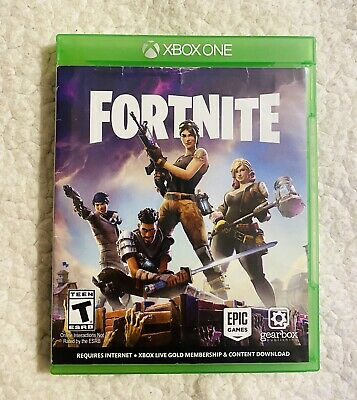 Fortnite Xbox One 2017 Physical Copy Disc Gearbox Epic Games No Codes