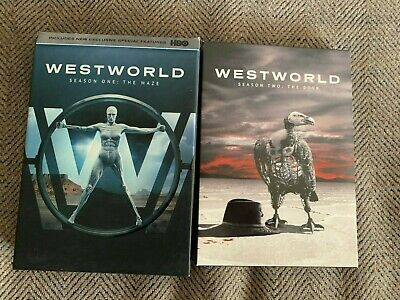 Westworld DVDs seasons 1 and 2 Like New Condition
